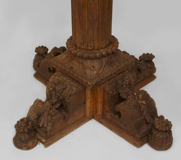 Set of Five Anglo-Indian Architectural Columns In Good Condition For Sale In New York, NY