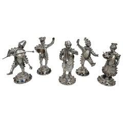 Multi-gemstone More Silver, Flatware and Silverplate