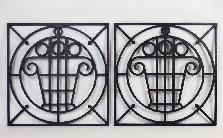 5 Art Deco Cast Iron Fences For Sale 2