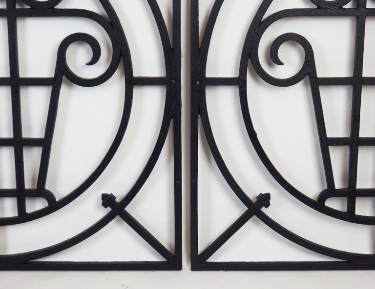 5 Art Deco Cast Iron Fences For Sale 4