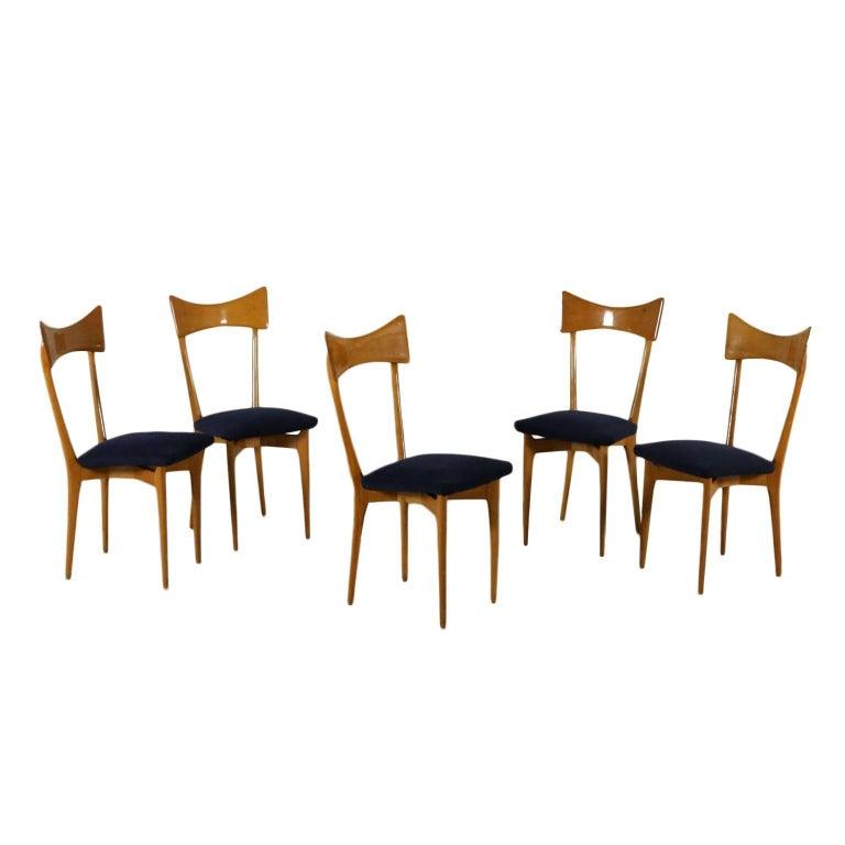 Line Of Cinema Chairs With Folding Seat Beech And Poplar