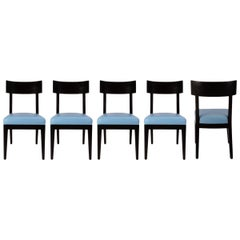 Set of 5 Christian Liaigre Terra Dining Chairs