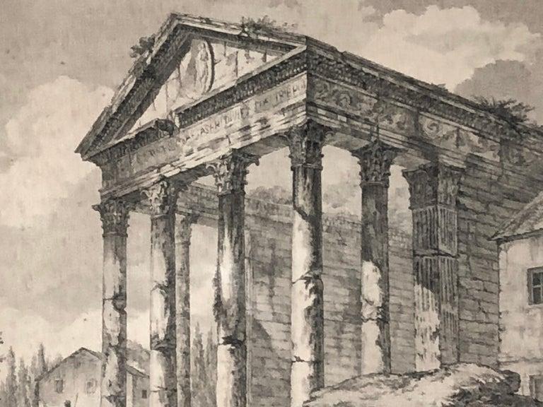 Set of 5 Engravings, 'Les Ruines De Grece' 1758, by Julien Le Roy For Sale 6