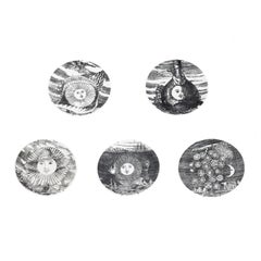 Set of 5 Fornesetti Decorative Plates