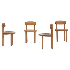 Set of 5 Pinewood Chairs by Rainer Daumiller, 1970s