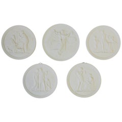 Neoclassical Wall-mounted Sculptures