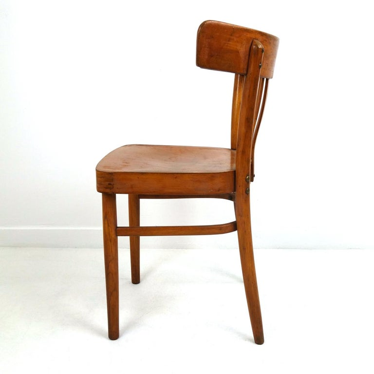 20th Century Set of 5 Wooden Dining Chairs Made by KOK For Sale