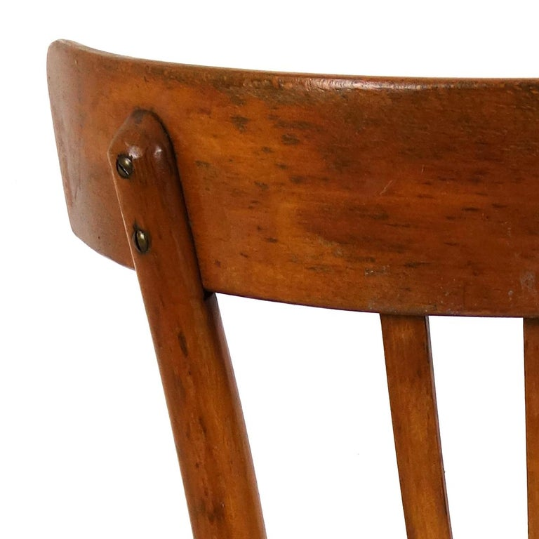 Set of 5 Wooden Dining Chairs Made by KOK For Sale 1