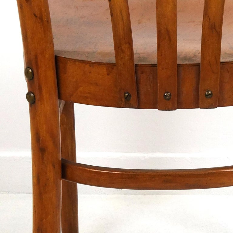 Set of 5 Wooden Dining Chairs Made by KOK For Sale 2