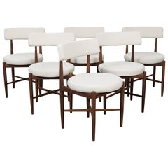 Set of 6 1960s English Teak Dining Chairs by G Plan