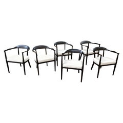 Set of 6 American Armchairs