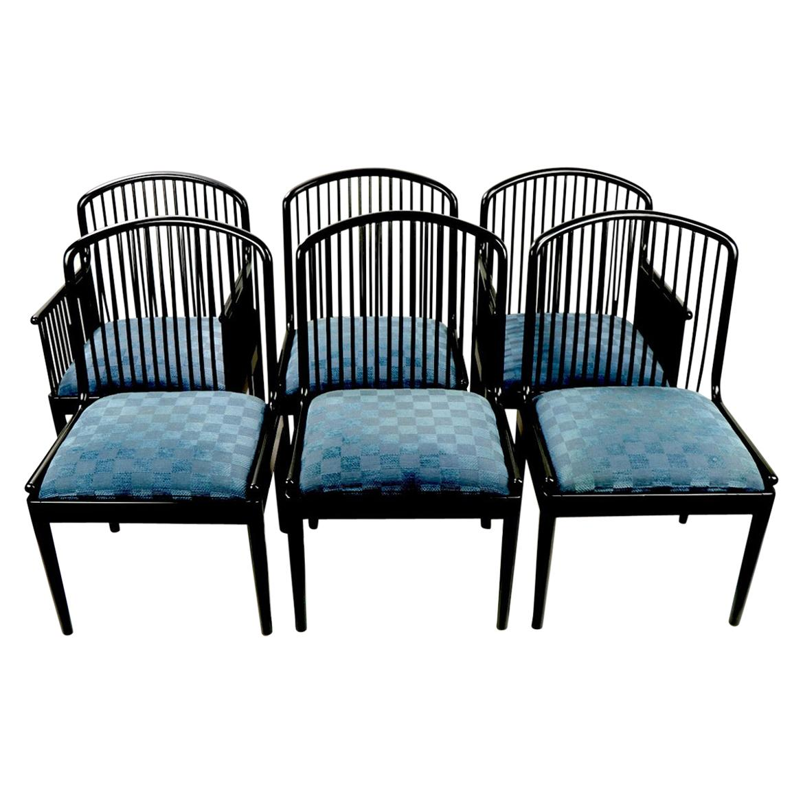 Set of 6 Andover Chairs for Stendig by Davis Allen