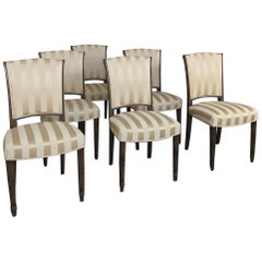 Set of 6 Antique Louis XVI Dining Chairs