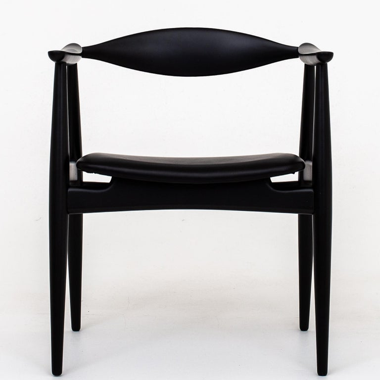 Set of 6 Armchairs by Hans J. Wegner For Sale 2