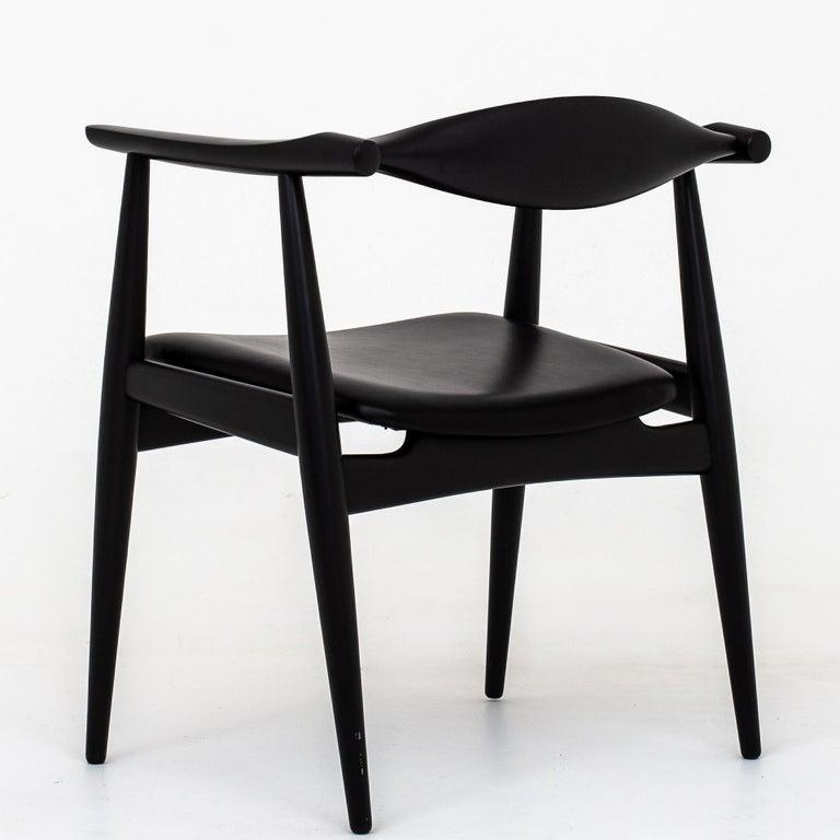 Scandinavian Modern Set of 6 Armchairs by Hans J. Wegner For Sale