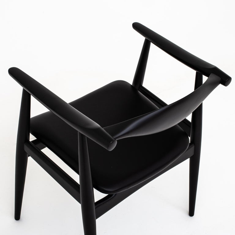 20th Century Set of 6 Armchairs by Hans J. Wegner For Sale
