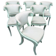 Set of 6 Art Deco Side Chairs