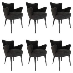 Set of 6 Aube Chairs, by Bourgeois Boheme Atelier