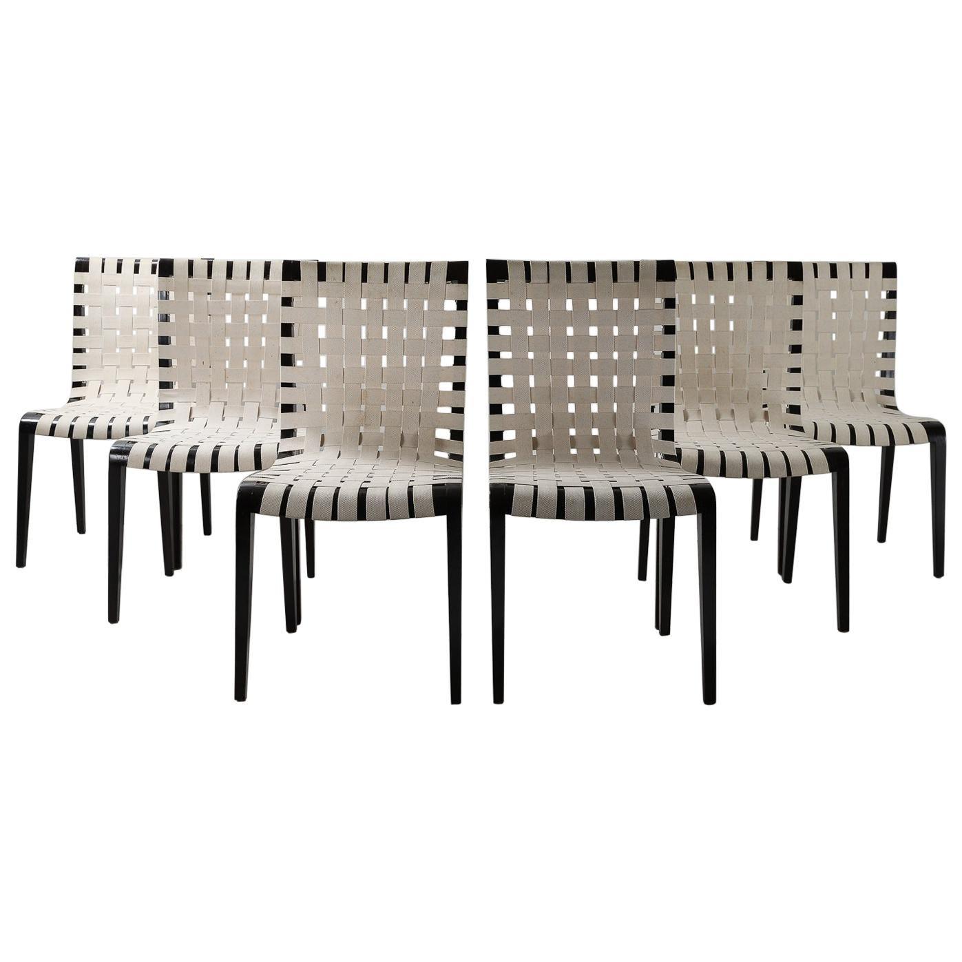 Set of 6 Augusto Romano Chairs, Italy 1950s