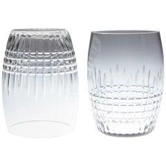 Set of 6 Baccarat Crystal 'Nancy' Pattern Water Glasses, circa 1950s