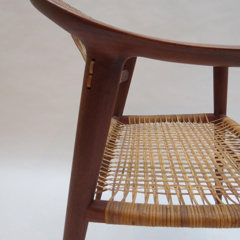 Set of 6 Bambi Dining Chairs by Rolf Rastad and Adolf Relling Norway For Sale 1