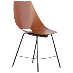 Set of 6 Bentwood Side Chairs by Societa Compensati Curvati, Italy