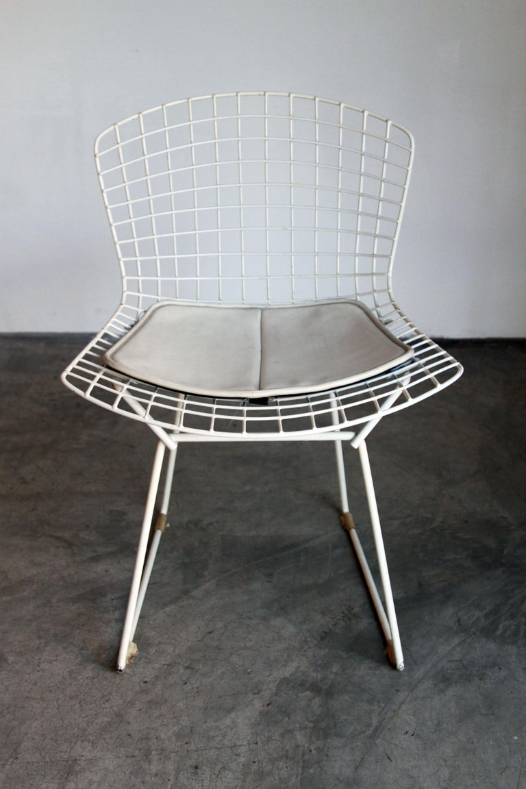 Set of 6 Bertoia Side Chairs for Knoll Vintage 11