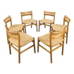 Set of 6 BM1 Dining Chairs by Børge Mogensen for CM Madsen, Denmark 1960s