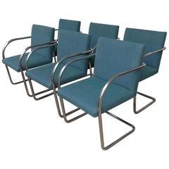 Set of 6 Brueton Brno Chairs
