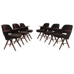 Set of 6 Cees Braakman FT30 Dining Chairs for Pastoe
