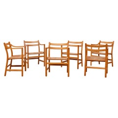 Set of 6 'CH46' Oak Dining or Armchairs by Hans J. Wegner