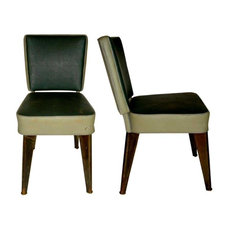 Set Of 6 Chairs 2 Armchairs By Dominique For Sale At 1stdibs