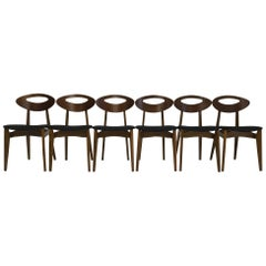 Set of 6 Chairs by Roger Landault for Sentou, French Design