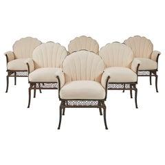 Set of 6 Chairs for Casa Encatada Designed by T.H. Robsjohn-Gibbings