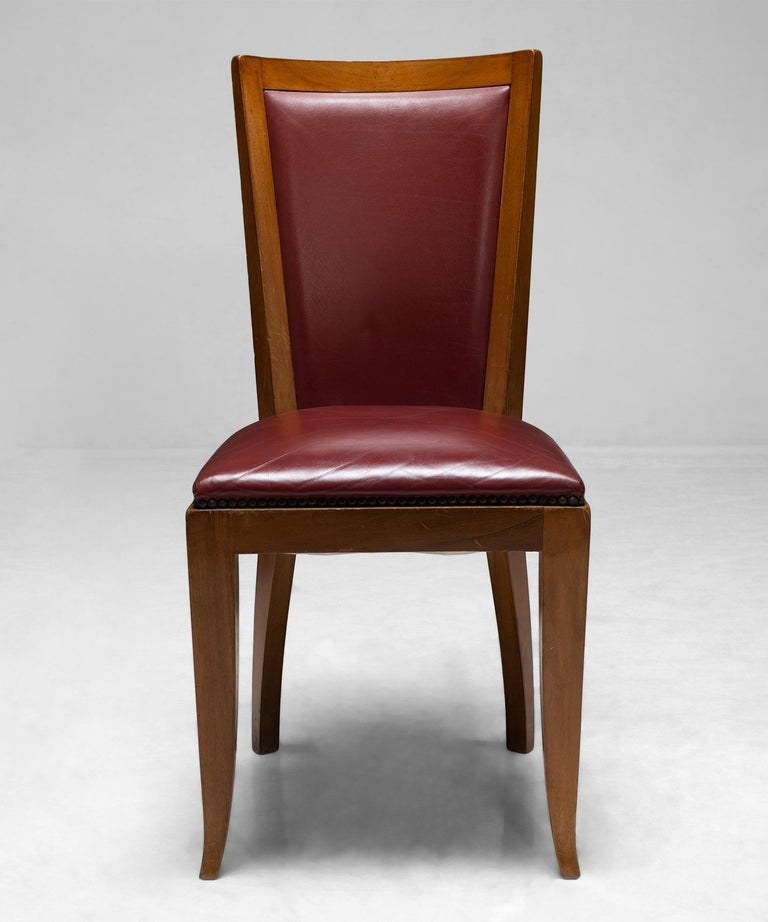 20th Century Set of '6' Cherrywood Dining Chairs For Sale