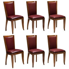 Set of '6' Cherrywood Dining Chairs