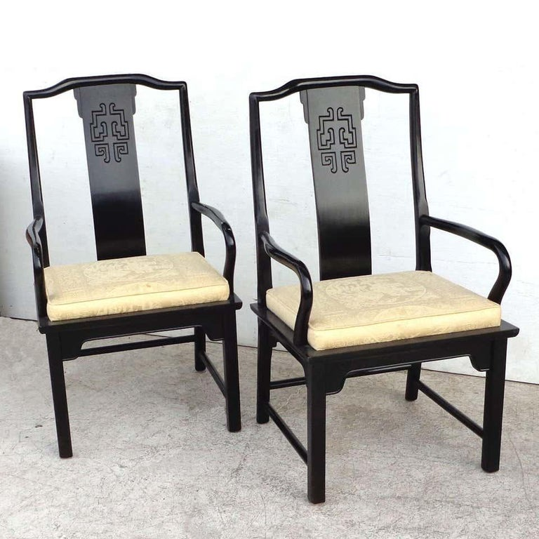 Set of 6 Chin Hua Dining Chairs by Raymond Sabota for Century Furniture For Sale 1