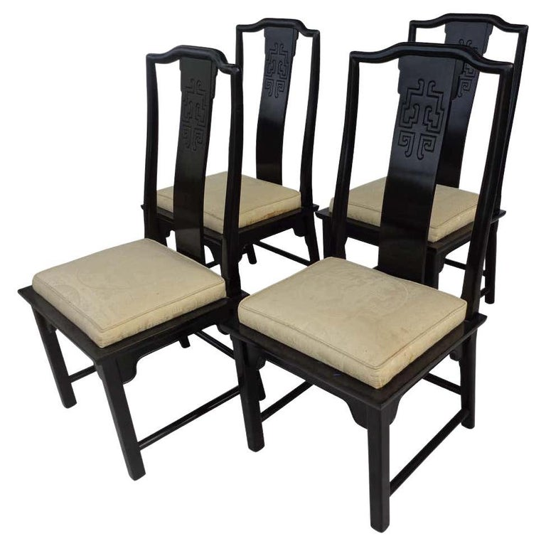 Set of 6 Chin Hua Dining Chairs by Raymond Sabota for Century Furniture For Sale