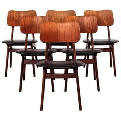 Set of 6 Danish Boltinge Teak Dining Chairs, 1960s