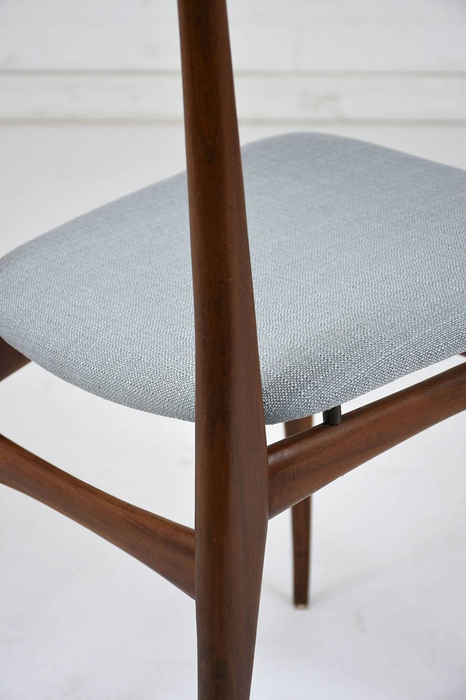 Set of Six Danish Dining Chairs, circa 1960 For Sale at 1stdibs