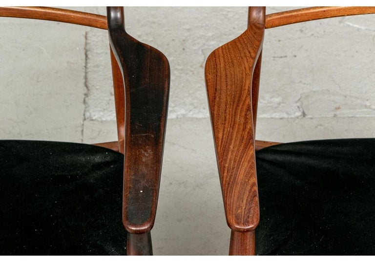 Set of 6 Danish Midcentury Teak Dining Chairs For Sale 16