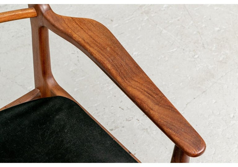 Set of 6 Danish Midcentury Teak Dining Chairs For Sale 4