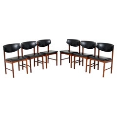 Set of 6 Danish Vintage Dining Chairs