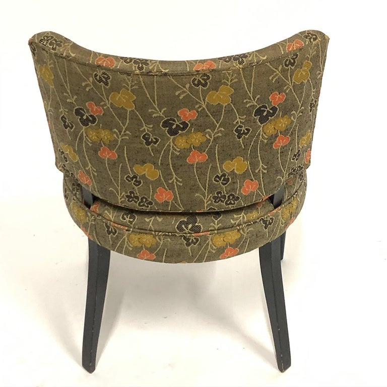 Set of 6 Deco Gilbert Rohde for Herman Miller Paldao Group Dining Chairs, 1940s In Good Condition In Hudson, NY