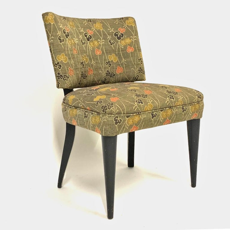 Mid-20th Century Set of 6 Deco Gilbert Rohde for Herman Miller Paldao Group Dining Chairs, 1940s
