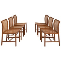 Set of 6 Dining Chairs by Ditte Heath