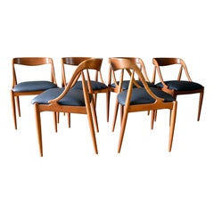 Set of 6 Dining Chairs by Johannes Andersen, circa 1965