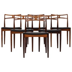 Set of 6 Dining Chairs by Johannes Andersen