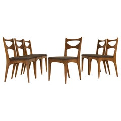 Set of 6 Dining Chairs by John Van Koert