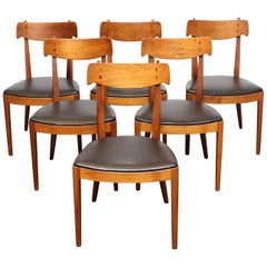 Set of 6 Dining Chairs by Kipp Stewart for Drexel Declaration